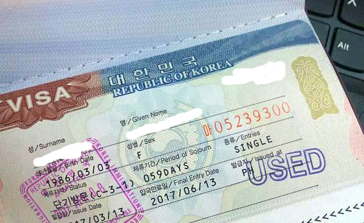 Getting Korean Visa